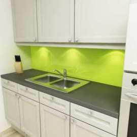 Küchenrückwand lindgrün