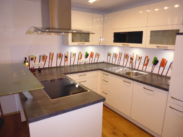 Küchenrückwand Sushi
